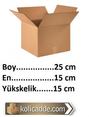 Mukavva Karton Kutu 25x15x15 cm-KoliCadde