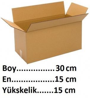 Karton Kutu Koli 30x15x15 cm-KoliCadde