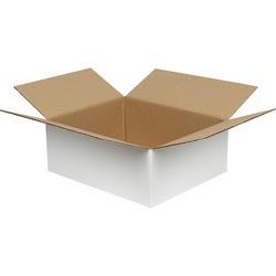Beyaz Ambalaj Kutusu 30x25x12 cm.-KoliCadde
