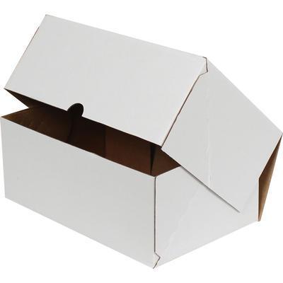 Beyaz Kilitli Koli Kutu 35x24x14 cm.-KoliCadde