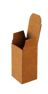 Kilitli Karton Kutu 4x4x8 cm.-KoliCadde
