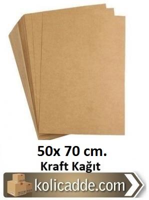 Kraft Kağıdı 50x70 cm. 70 gr/m² 50 Adet-KoliCadde