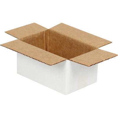 Tek Oluklu Beyaz Koli 6,5x3,5x3 cm-KoliCadde