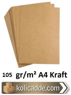 A4 Kraft Kağıdı 105 gr/m² 100 Adet-KoliCadde