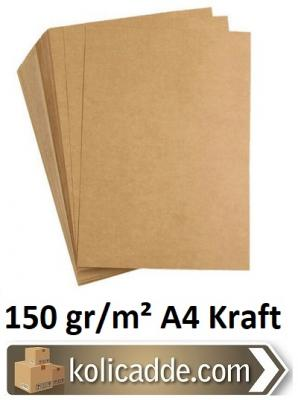 A4 Kraft Kağıdı 155 gr/m² 100 Adet-KoliCadde