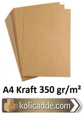 A4 Kraft Kağıdı 350 gr/m² 50 Adet-KoliCadde