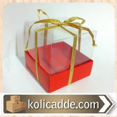 Kırmızı Karton Kutu-KoliCadde