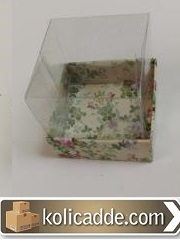 Asetat Kapaklı Kutu 5x5x3 cm