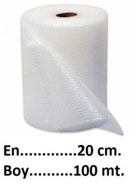 Balonlu Naylon 20 cm En 100 mt. Boy Metresi 0,59 L-KoliCadde