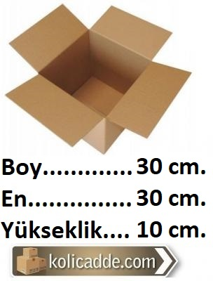 Boş Koli 30x30x10 cm.-KoliCadde