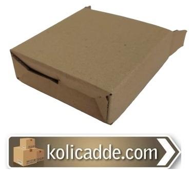 Alt Kilitli Kargo Kutusu 11x11x3,5 cm.-KoliCadde