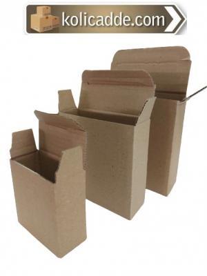 Dipten Kilitli E-Ticaret Kutusu 9,5x9,5x3 cm.-KoliCadde