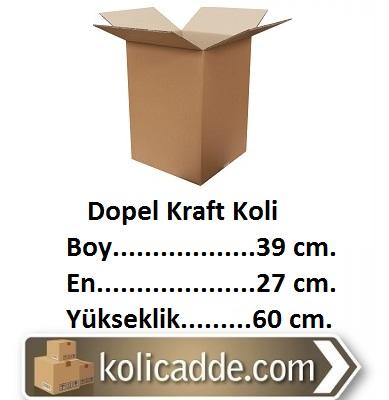 Dopel Kraft Koli 39x27x60 cm.-KoliCadde