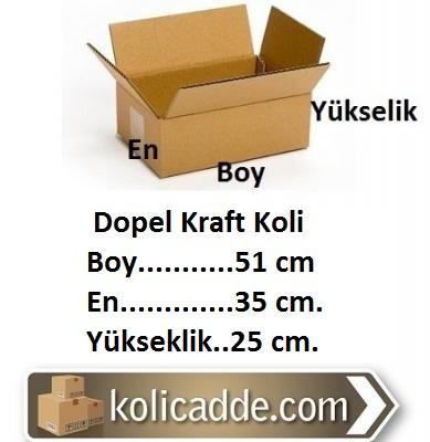 Dopel Kraft Koli 51x35x25 cm.-KoliCadde