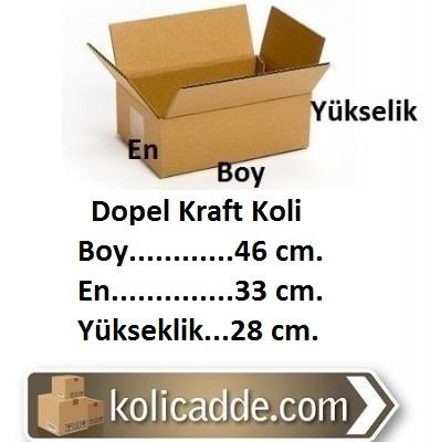 Dopel Kraft Koli 46x33x28 cm.-KoliCadde