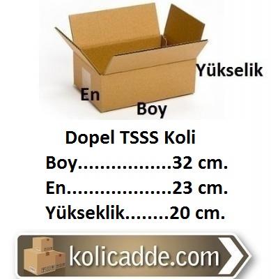 Dopel TSSS Koli 32x23x20 cm.-KoliCadde