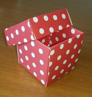 Hediyelik Kutu 5x5x5 cm
