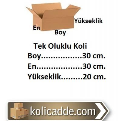 Kutu Koli 30x30x20 cm.