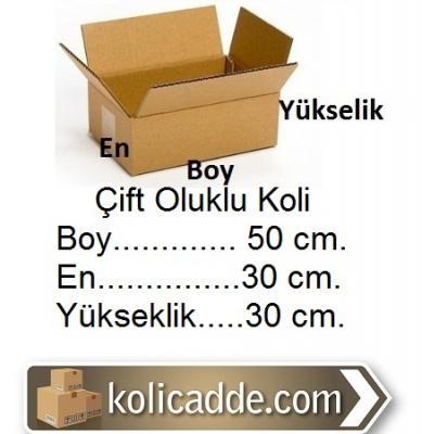 Kargo Ambalaj Kolisi 50x30x30 cm.
