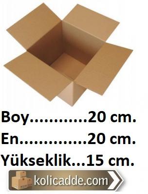 Tek Oluklu Koli 20x20x15 cm.-KoliCadde