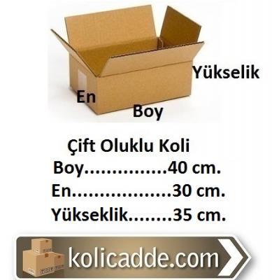 Karton Koli Ambalaj 40x30x35 cm.-KoliCadde