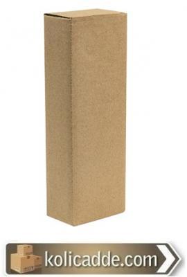 Karton Şişe Kutusu 14x8x27 cm.-KoliCadde