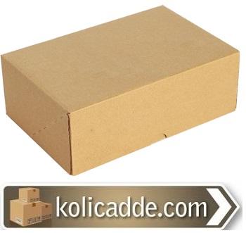 Kilitli Karton Kutu 22x16x8 cm.