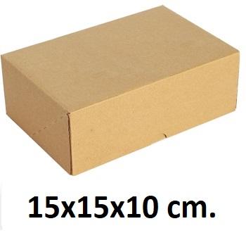 Kilitli Karton Kutu 15x15x10 cm