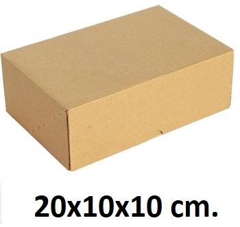 Kilitli Karton Kutu 20x10x10 cm.-KoliCadde