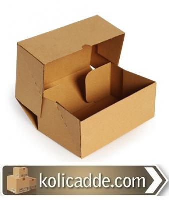 Kilitli Karton Kutu 24,5x24,5x11,5 cm.