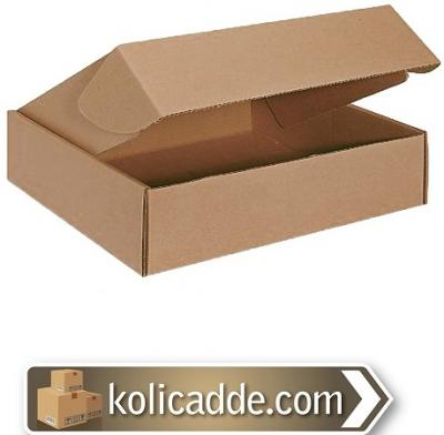 Kilitli Kargo Kutusu 24x16,5x6 cm.