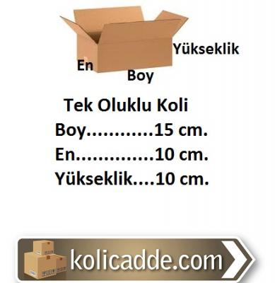 Hazır Karton Kutu 15x10x10 cm.-KoliCadde