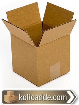 Küçük Kraft Kutu 3x3x4 cm.-KoliCadde