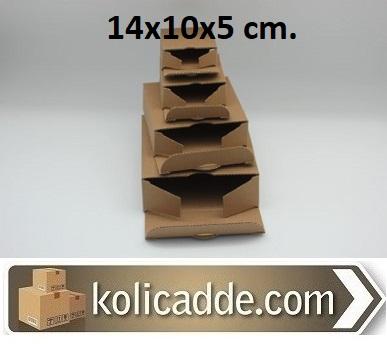 100 Adet Küçük Karton Kutu Tanesi 84 Kuruş