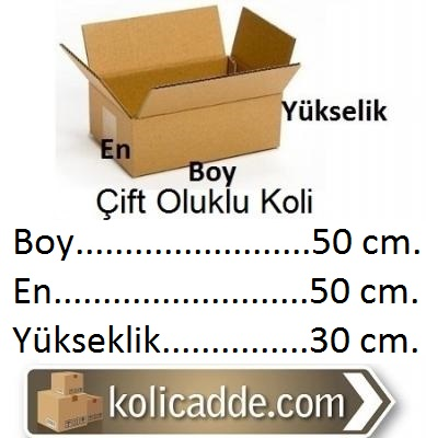 Kraft Koli 50x50x30-KoliCadde