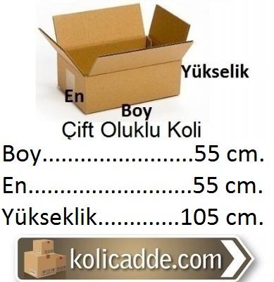 Kraft Koli 55x55x95 cm.