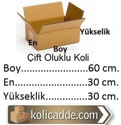 Hazır Karton Koli 60x30x30 cm.