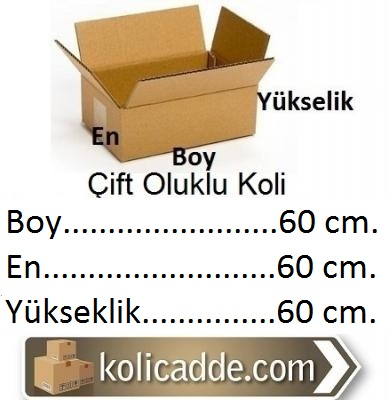 Kraft Koli 60x60x60 cm.-KoliCadde