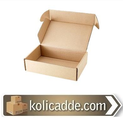 Kilitli Karton Kutu 16x8x3 cm-KoliCadde