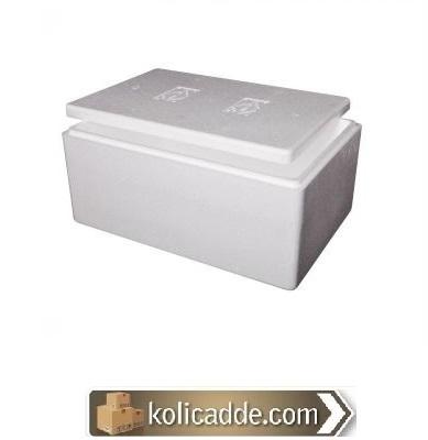 Strafor Köpük Kutu 27x16,5x12,5 cm.-KoliCadde