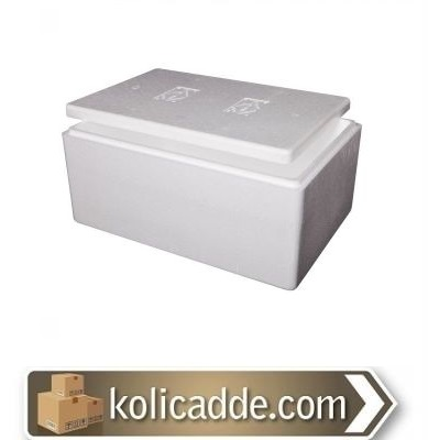 Strafor Köpük Kutu 26,5x20,5x18,6 cm.-KoliCadde