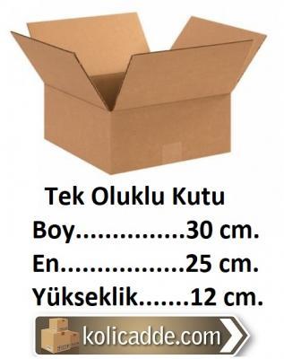 Ambalaj Kutusu 30x25x12 cm.-KoliCadde