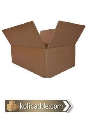 100 Adet 35x20x15 cm. Karton Kutu Tanesi 1,99 Lira-KoliCadde