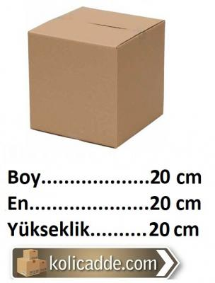 100 Adet Karton Kutu Tanesi 1.04 Lira