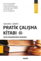 Pratik Çalışma Kitabı – II  Ceza Muhakemesi Hukuku