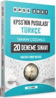 KPSS nin Pusulası Türkçe 20 Deneme Çözümlü