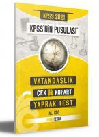KPSS nin Pusulası Vatandaşlık Yaprak Test Çek Kopart