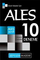 2018 ALES Sözel Adaylar İçin Tamamı Çözümlü 10 Deneme