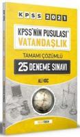 KPSS nin Pusulası Vatandaşlık 25 Deneme Çözümlü