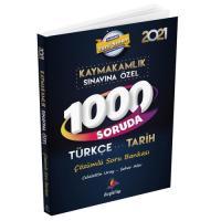 1000 Soruda Kaymakamlık Türkçe-Tarih Çözümlü Soru Bankası